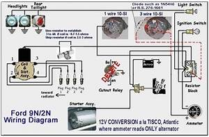 12 Volt Alternator Wiring Diagram : 1946 2n 12 volt alternator not charging ford 9n 2n 8n ~ A.2002-acura-tl-radio.info Haus und Dekorationen