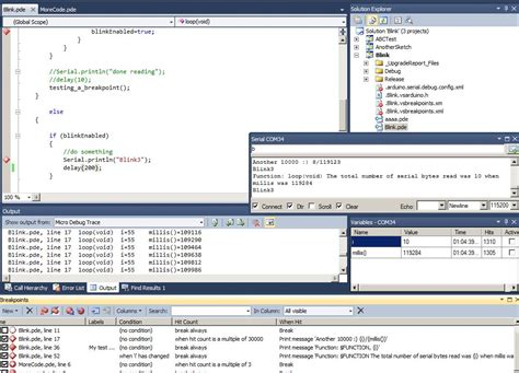 arduino debug tool debug  serial xbee bluetooth