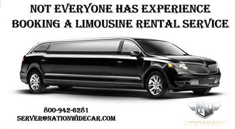 Limousine Rental Service by Not Everyone Has Experience Booking A Limousine Rental Service