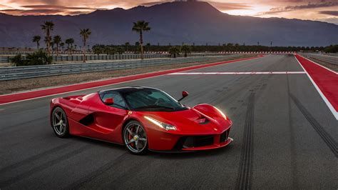 Wallpaper Ferrari Laferrari, Supercar, Sport Cars, Red