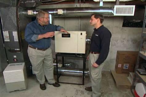 install  dehumidifier    house ron