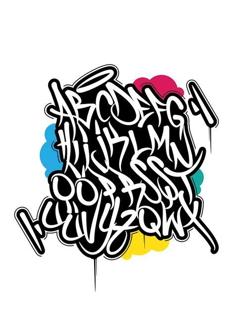 Tag Graffiti Alphabet