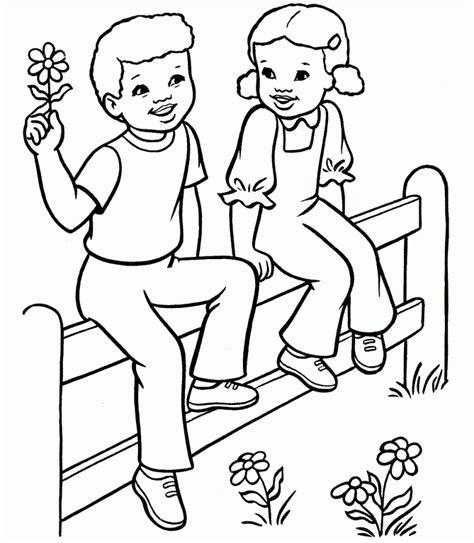 amor infantil de primavera