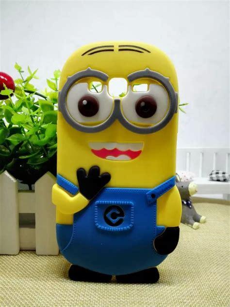 3d minions silicone despicable me yellow minion design cover for samsung galaxy grand prime