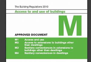 Dclg commissions research into building regulations for Part m documents