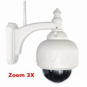 Camera Dome Exterieur Wifi : cam ra dome ip wifi motoris e pour ext rieur avec zoom ~ Edinachiropracticcenter.com Idées de Décoration