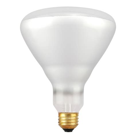 shop sylvania 70 watt br40 medium base soft white dimmable