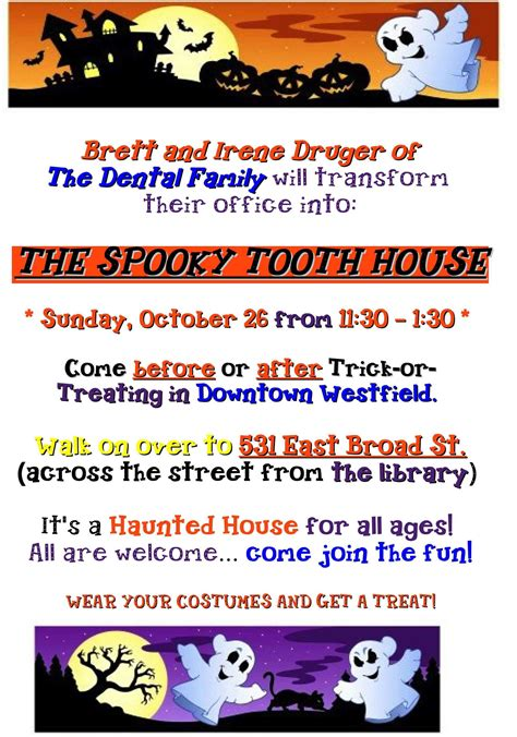 dental familys spooky tooth house  westfield oct
