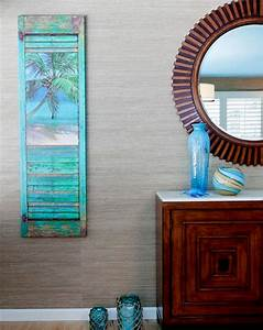 Coastal art shutters idea by karen grace the look