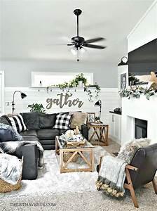 25, Modern, Farmhouse, Living, Room, Design, Ideas