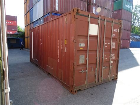20 Ft Lagercontainer Seecontainer Überseecontainer