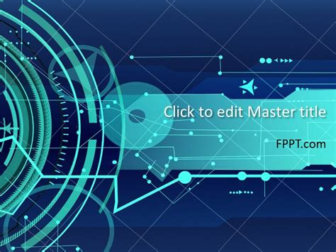 free technology powerpoint templates free technology powerpoint templates
