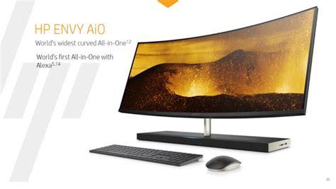 hp refreshes  envy desktop portfolio   aio