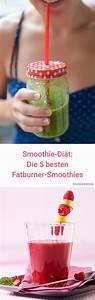 Detox Smoothie Rezepte Zum Abnehmen : smoothie di t 5 schlanke smoothie rezepte smoothies pinterest smoothie di t di t und ~ Frokenaadalensverden.com Haus und Dekorationen