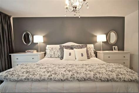 grey bedroom walls before the master bedroom was a