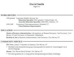 human resources generalist sle resume resume for a generalist in human resources susan ireland resumes