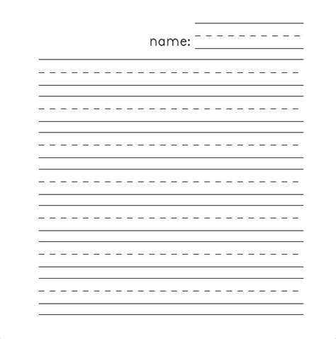 Number Names Worksheets » Dotted Writing Paper