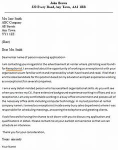 Receptionist cover letter example forumslearnistorg for Good cover letter for receptionist position