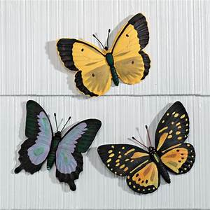 Butterfly plaques wall art outdoor walter