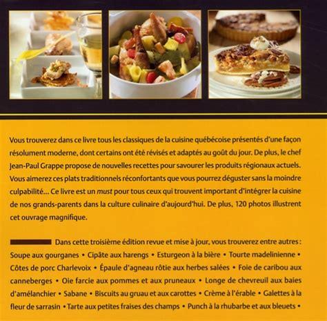 la cuisine du gibier à poil d europe livre cuisine traditionnelle du québec découvrez la