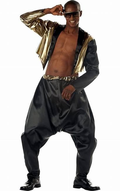 Costume 80s Rapper Hammer Mc Hop Hip