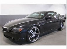 Sell used 2005 BMW 645Ci COUPE 22 INCH WHEELS BLACKBLACK