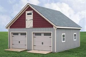 Horizon Structures 24x26  U0026quot Raised Roof U0026quot  2 2