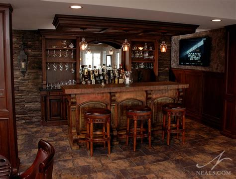 Rustic Bar Ideas by Reclaimed Rustic Bar