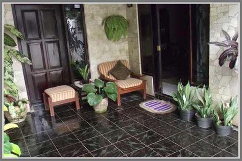 teras tampak cantik  tanaman  pot edupaint