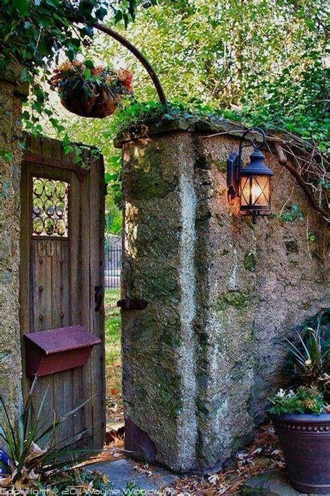 Backyard Gate Ideas by 20 Charming Stickwork Rustic Garden Gates Ideas
