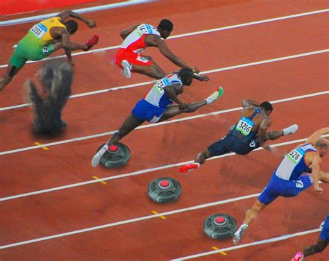 USA Track And Field To Replace Hurdles With Landmines ...