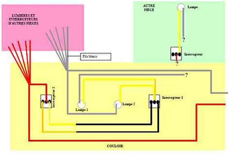 3 interrupteur pour une le raccordement prises lumi 232 re forum electricit 233 syst 232 me d