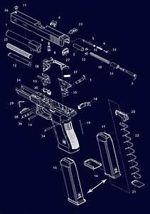 Glock Pistol Schematic