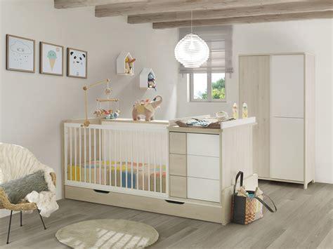 chambre bebe evolutif but chambre bébé lit évolutif tiroir armoire finition