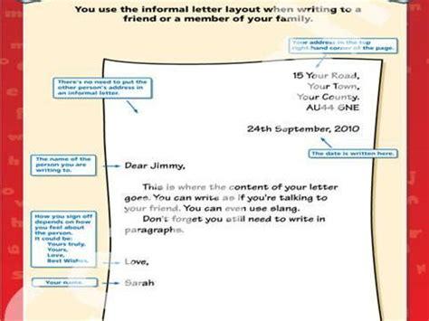 informal letter examples ks  almondo teaching
