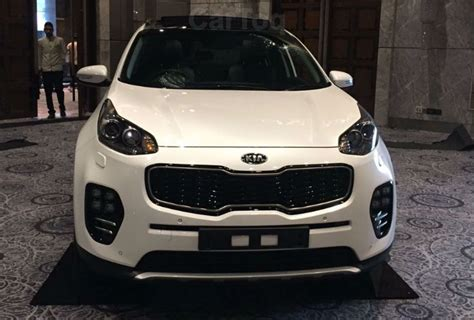 kia cars spotted   companys indian dealer roadshow