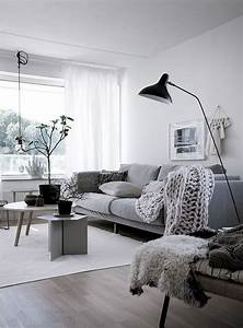 99, Beautiful, White, And, Grey, Living, Room, Interior