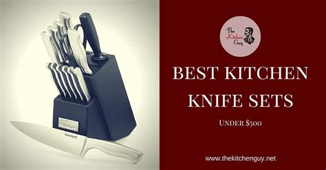 knife kitchen sets chef cutlery under