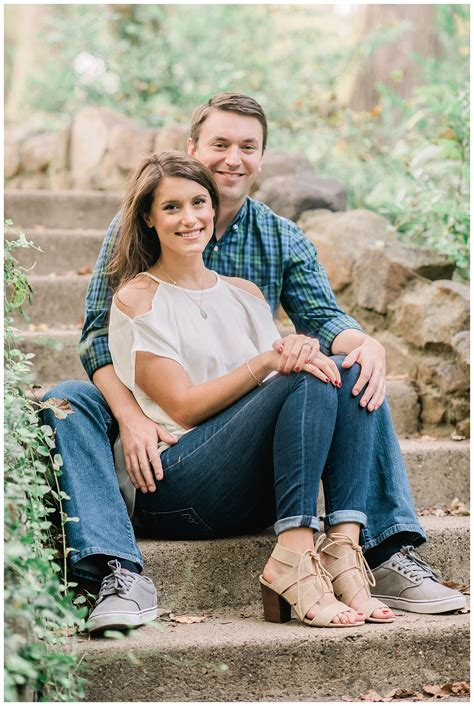 Romantic ethereal engagement session in Dallas   Alba Rose ...