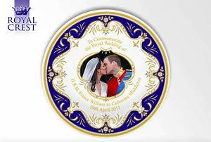 """Royal Wedding Day Fine Bone China with """"The Kiss"""" images ..."""