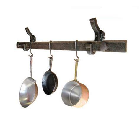 wall mount pot rack rail anchor pot rack system wall mounted railroadware