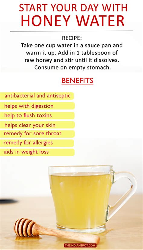 start your day with honey water theindianspot com