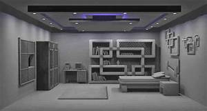 3D WorLd: Room Interior Modeling (Mental ray) render