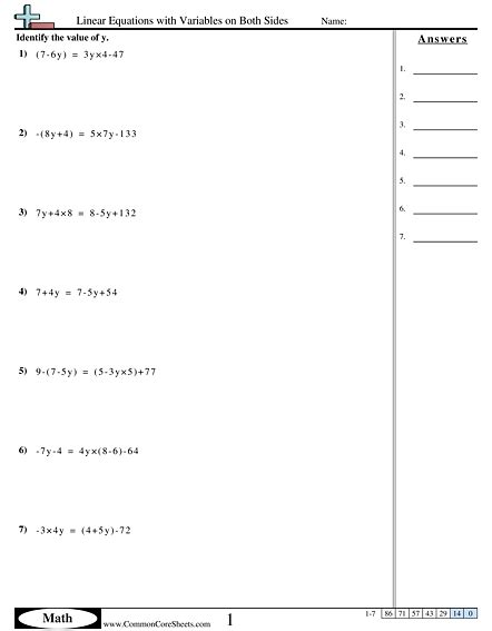 algebra worksheets free commoncoresheets