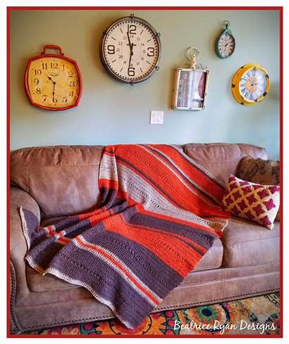 Blanket Fall Easy Crochet Pattern Patterns Grace