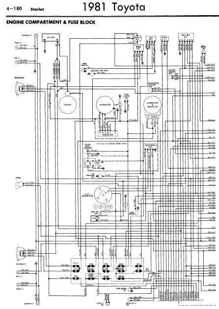 Repair Manuals Toyota Starlet Wiring Diagrams