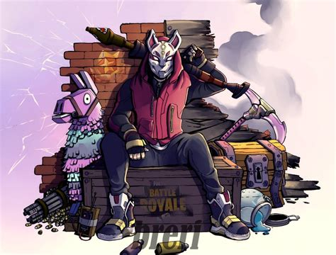 Fortnite Drift By Breri On Deviantart