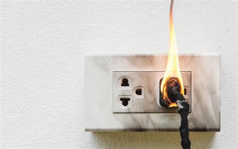 electrical fire fires forensics surge cause protectors forensic extinguishers