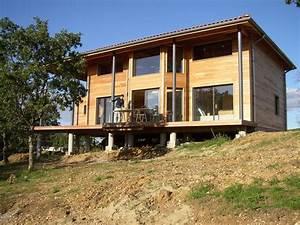 le choix d39une maison sur pilotis la cabane au fond du vexin With maison pilotis terrain pente