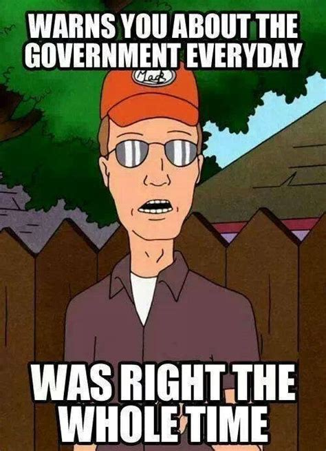 Dale Gribble Memes - good guy dale gribble concerning the us government meme guy